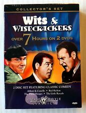 Wits and Wisecrackers ~ Rare Three 3 Stooges Abbott Little Rascals ~ New DVD Set