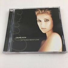 Celine Dion Let's Talk About Love Music CD 1997 Pop Rock