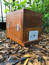 Stingless Native Beehive | Stained | OATH Bee Hive