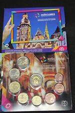 SERIE DIVISIONALE SLOVACCHIA 2013 CON MEDAGLIA - EURO COINS SLOVAKIA