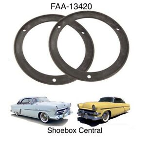 1952 1953 1954 Ford Tail Light Lamp to Body Rubber Gasket Pad Seal