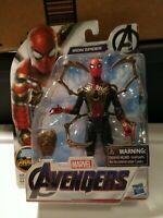 New Marvel Avengers Endgame Spider Man Iron Spider 6'' Action Figure Kids Toy