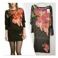 [ DESIGUAL ] Womens Print Dress NEW   Size S or AU 10 / US 6