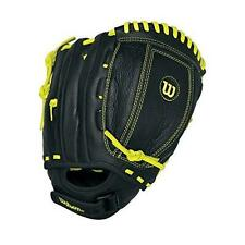 WILSON CHAMPIONSHIP A500 FASTPITCH BLACK/YELLOW SOFTBALL GLOVE RIGHT HAND THROW