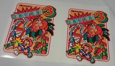 Nintendo Donkey Kong 3 Arcade Game Side art decal set