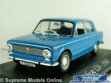 SEAT 124 MODEL CAR 1:43 SCALE IXO BLUE 1968 CLASSIC 1960'S FIAT SALOON K8