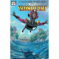 IRONHEART #1 RIRI WILLIAMS  MARVEL COMICS COVER A 1ST PRINT  2018