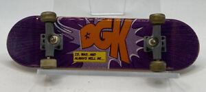 Tech Deck DGK Skate Purple Fingerboard Is Was And Always Will Be 96mm