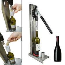 New listing Manual Wine Bottle Corking Machine 20-24mm Hand Pressure Corker 2 Pom Heads Usa