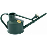 Haws Handy Indoor House Plant Plastic Watering Can Fine Spray Rose 0.7l Green