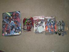 Gundam 1/100 Lot of 2 Epyon Oz-13Ms & Serpent Custom Mms-01 Mg Assembled