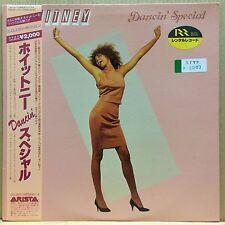 WHITNEY HOUSTON / WHITNEY DANCIN' SPECIAL LP w/OBI Insert Orig JAPAN ISSUE