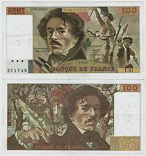 100 Francs, Delacroix 1980