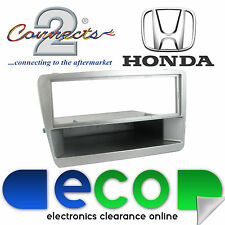 Connects2 Honda Civic EP3 2000-2005 Silver Stereo Fascia Facia Replacement Panel