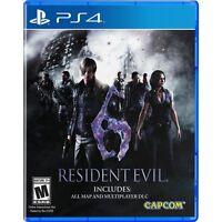 Resident Evil 6 PlayStation 4 PS4