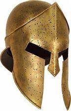 300 MOVIE SPARTAN GREEK LEONIDAS ROMAN GREEK CORINTHIAN MEDIEVAL ARMOUR HELMET