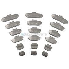 Schlaggewichte Auswuchtgewichte Zinkgewichte Stahlfelgen 5g-40g je 25 St 200 TLG