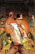 RAIDERS OF THE LOST ARK FORD TEXTLESS MOVIE POSTER FILM A4 A3 ART PRINT CINEMA