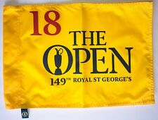 2021 British Open flag royal st. george's championship golf 149th pin flag