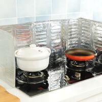 1pc Aluminum Foil Oil Block Anti-Splashing Oil Baffle Kitchen Utensils ToolsLDUK