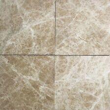 "Emperador Light 5 9/16""x5 9/16"" Polished Marble Floor Tile (Sold Per Piece)"