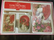 Vintage1970'S Hallmark Playing Card Ensemble New Sealed Pencil Scorecard