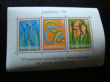 LUXEMBOURG - timbre yvert et tellier bloc n° 12 n** (Z7) stamp (E)