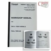 Triumph T150-T150V Trident Workshop Manual