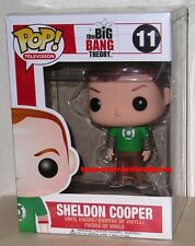 FUNKO POP TV THE BIG BANG THEORY SHELDON COOPER #11 RETIRED Figure IN STOCK
