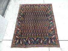 4x5ft. Antique Persian Sultanabad Wool Rug