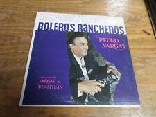 Boleros Rancheros Con Pedro Vargas - Spanish Record with Sleeve - Free USA Ship