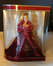 NEW ! Holiday Celebration BARBIE Doll 2002 Special Limited Edition