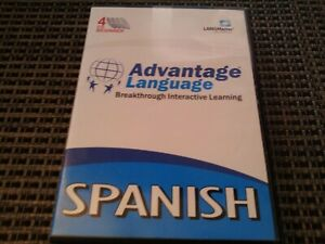 Advantage Language breakthrough interactive learning-Spanish 4 CD ROM beginner