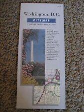 Washington, D.C: City Map , A Gousha Travel Publication, 1990