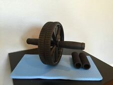 AB ROLLER ABDOMINAL EXERCISE STOMACH TONE ROLLER WORKOUT WHEEL FITNESS