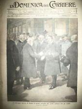 ITALIE ROME CONGRES HISTORIQUE MESSE DE LA SPADONE LA DOMENICA DEL CORRIERE 1917