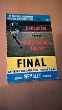 Dagenham v Skelmersdale United Ameatuer Cup Final 1971