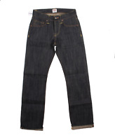 EDWIN ED 47 REGULAR STRAIGHT FIT MENS JEANS UNWASHED SELVAGE DENIM
