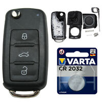 Klapp Schlüssel Gehäuse für Auto Neu passend für VW T5 GOLF 6 PASSAT TOURAN EOS