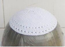 Yamaka Kipah Kipot Wedding 16CM Yarmulke Kippah CAP Jewish Hat kipá Kipas White