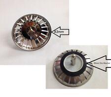 Replacement Kitchen Sink Strainer Waste plugs