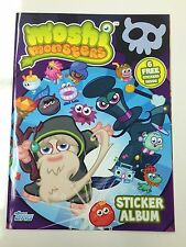 Topps Moshi Monsters Stickers offcial album Inc 6 free stickers