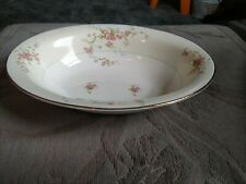 "Pope Gosser Gwendolyn Pattern 10 1/4"" Oval Serving Bowl"