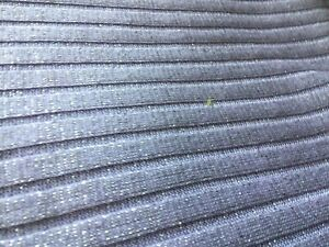 lavender metallic striped knit fabric 66 inches wide by 2 yards 14 inches