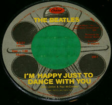 "The Beatles Movie Medley/I'm Happy Just To Dance With You B-5107 7"" Record Vg"