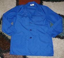"Best Medical Woman L/S Staff Lab Coat 3 pocket Royal 30"" Length Sz Xl/2X (46)"