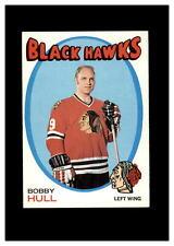 New listing 1971-72 Topps Set Break # 50 Bobby Hull NR-MINT *GMCARDS*