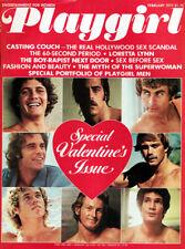 PLAYGIRL February 1977 Steve Bond LORETTA LYNN Red Sox RICHARD LEE BANEY nude