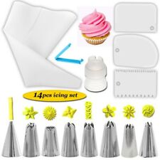 Cake Decorating Kit Bags Russian Piping Tips Pastry Icing Bags Nozzles Tools HOT