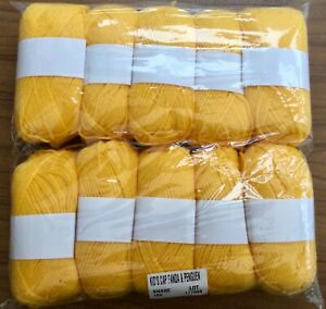 DK Double Knitting Yarn - 440g Approx - Yellow #346